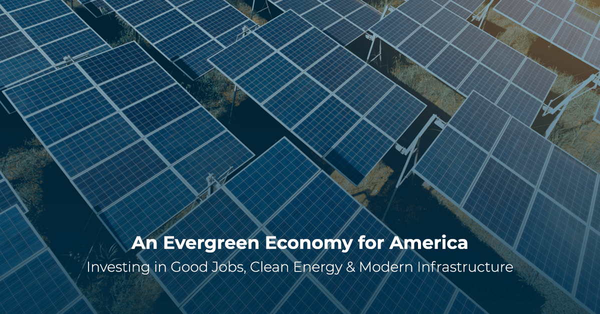An Evergreen Economy for America | Jay Inslee for Governor